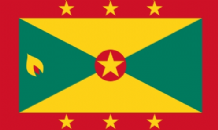 GRENADA - HAND WAVING FLAG (MEDIUM)